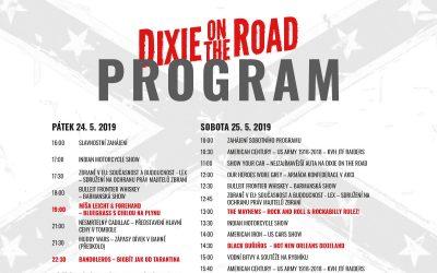 Program Dixie On The Road 2019 je zde!